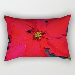 Poinsettia Rectangular Pillow