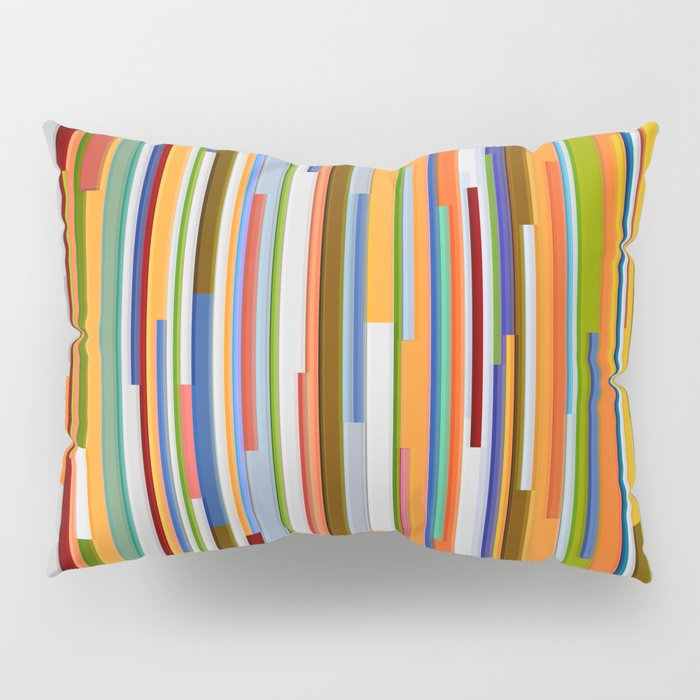 Abstract Composition 609 Pillow Sham