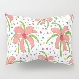 Tropical Fiesta Flowers Pillow Sham