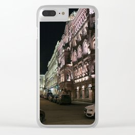 Home Ostrovsky Square. Clear iPhone Case