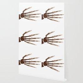 Isolated Boney Hand Wallpaper
