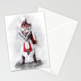 Ezio Auditore Stationery Cards