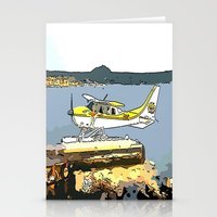 airplane Stationery Cards featuring Airplane by Cindys