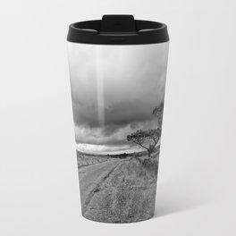 The road ahead - mono Travel Mug