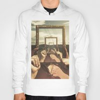 frame Hoodies featuring Empty Frame by Seamless
