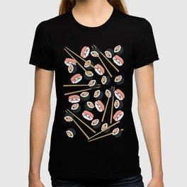 Sushi Sashimi Chopsticks T-shirt