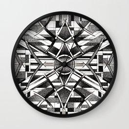 symmetry Wall Clock