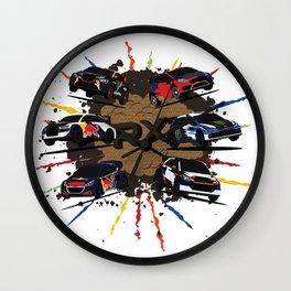 World RX Wall Clock