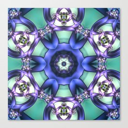 Allowing What Is Mandala Canvas Print