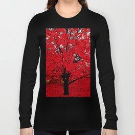 TREE RED Long Sleeve T-shirt
