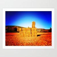 tetris Art Prints featuring Tetris by trasteverestudio