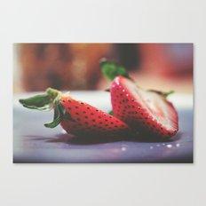 Iridescent Berries Canvas Print