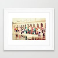india Framed Art Prints featuring India by Marianna Di Ferdinando