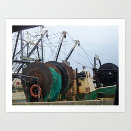 Working Waterfront Art Print