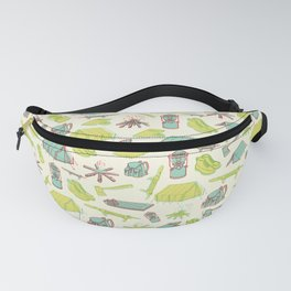 Retro Camping Fanny Pack