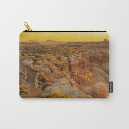 Blue Mesa Trailhead at Petrified Forest National Park Carry-All Pouch