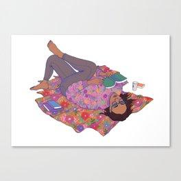 me time Canvas Print