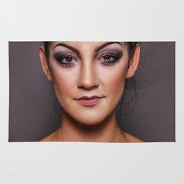 woman portrait Rug