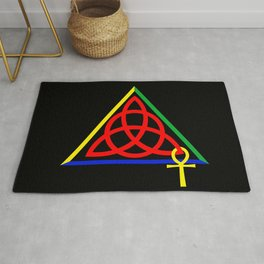 Cabot Kent Hermetic Temple Sigil Rug
