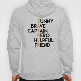 DEAR FATHER Fathers Day Quote Hoody