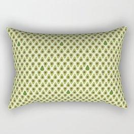 Avo salad Rectangular Pillow