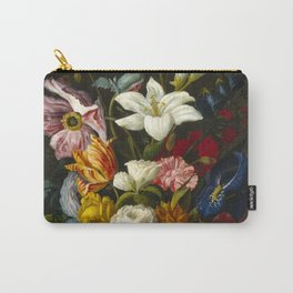 Victorian Bouquet by Severin Roesen Carry-All Pouch