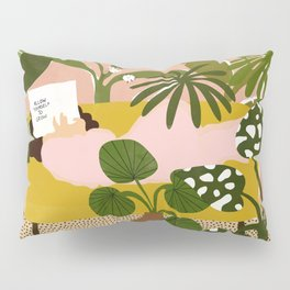 Allow Yourself To Grow Pillow Sham