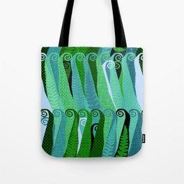 Darkwood Forest Fern Tote Bag