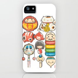 Special Lucky Toy Box iPhone Case
