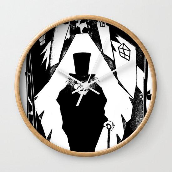 Dr. Caligari Wall Clock