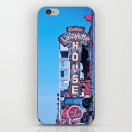 The Laff by Day iPhone Skin