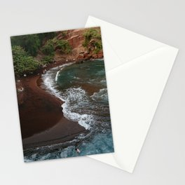 Maui in Red Stationery Cards
