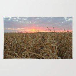 Corn Maze Sunset Rug