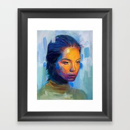 Portraitt Framed Art Print