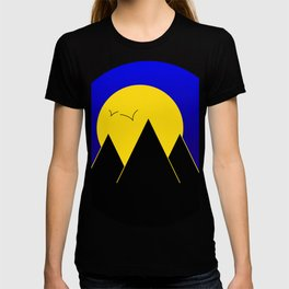 Pyramids in the night - Vector T-shirt