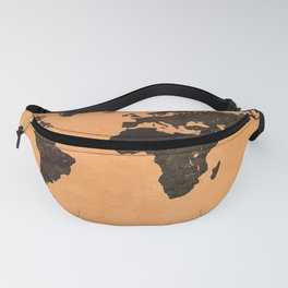 Abstract Earth Science Map Fanny Pack
