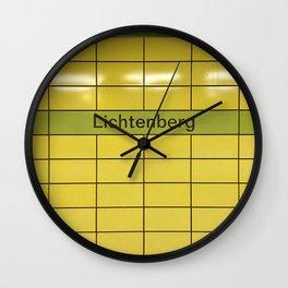 Berlin U-Bahn Memories - Lichtenberg Wall Clock