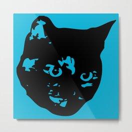 Tortoiseshell Kitty Metal Print