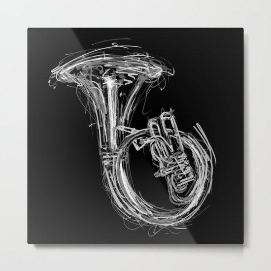 Sousaphone I Metal Print