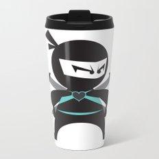 Ninja (with heart) Metal Travel Mug