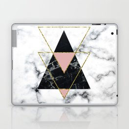 Geo glam marble Laptop & iPad Skin