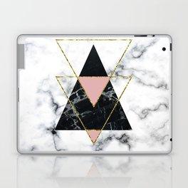 Geo glam marble Laptop & iPad Skin