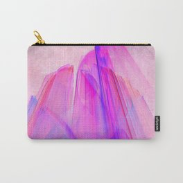 Pink sunset in the glowing city Carry-All Pouch