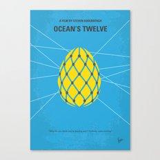No057 My Oceans 12 minimal movie poster Canvas Print