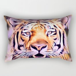 Awesome modified Tiger Rectangular Pillow