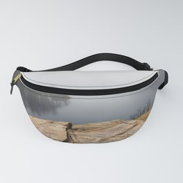 Foggy reflections Fanny Pack