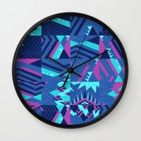 pocahontas Wall Clocks featuring Pocahontas by Sammy Cee