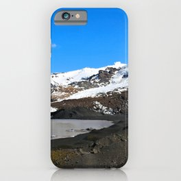Glacier Walk and the Icelandic Troll iPhone Case