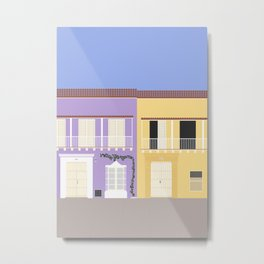 Old Town Cartagena, Colombia Metal Print