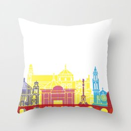 Cordoba skyline pop Throw Pillow